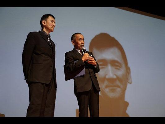 Afternoon session. Introduction of Mr. Naoki Aiba from Mr. Shigeo Kataoka.