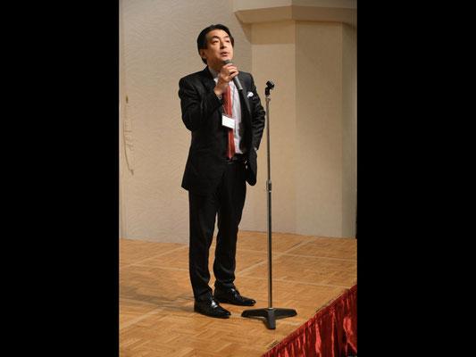 Party opening. Mr. Yoshimi Nishimura.