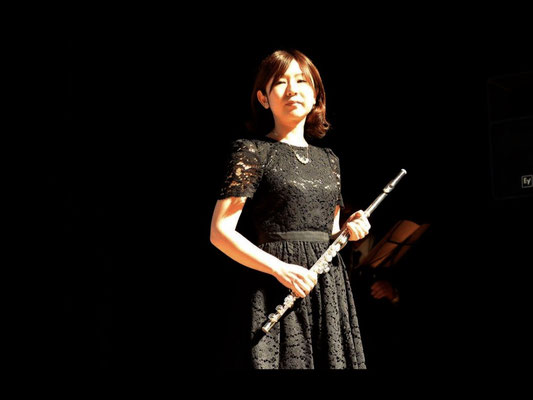 Flute performance / Miss. Nanae Yamazaki (dental technician)