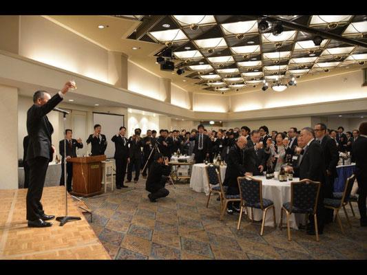Toast greetings by Mr. Shigeo Kataoka