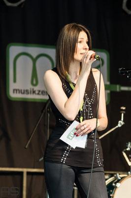 Andreja als Moderatorin