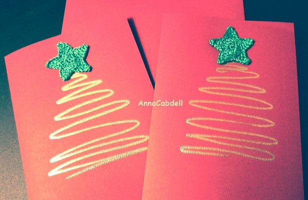 Postales de Navidad.
