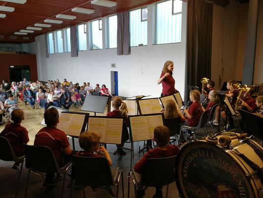 Nachwuchskonzert; Foto: F. Aschenbrenner