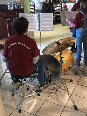 70. Geburtstag einer unserer Musikerinnen - Unterhaltungsprogramm unserer Jugendkapelle; Foto: S. Eichenseer