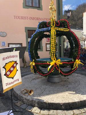 Sommerkonzert Riedenburg - BierFasslBlosn; Foto: S. Eichenseer