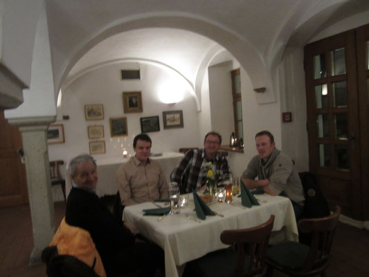 Jahresabschlussfeier in Schloss Eggersberg