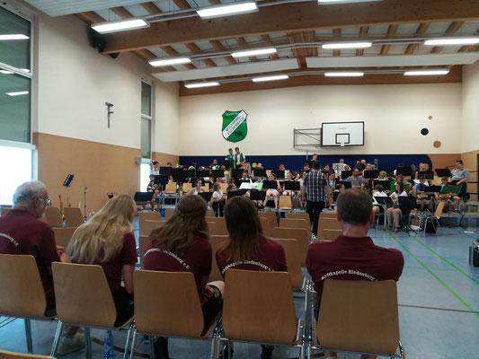 Konzert in Wolframs-Eschenbach; Foto: F. Aschenbrenner