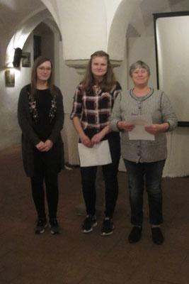 Jahresabschlussfeier in Schloss Eggersberg - Auch die Ein oder Andere Ehrung wurde durchgeführt