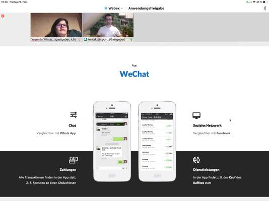 Die App WeChat ist ein großer Bestandteil der Überwachung