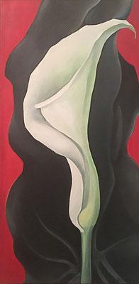 40x80 Gemälde Öl auf Leinwand