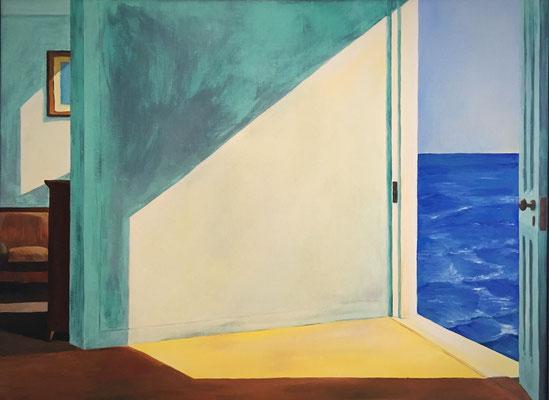 70x50 Gemälde Öl auf Leinwand