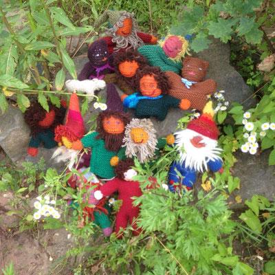 fleißige Gartenhelfer-Gnome