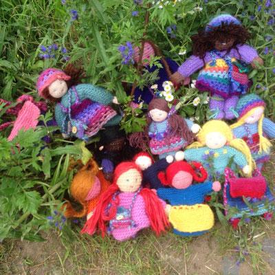 Picknick auf der Blumenwiese