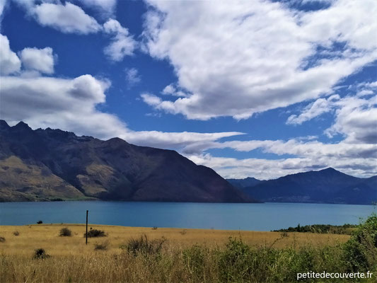 Direction Te Anau depuis Queenstown