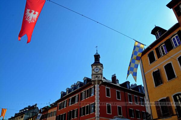 Horloge - Place St-Léger - Chambéry - Savoie