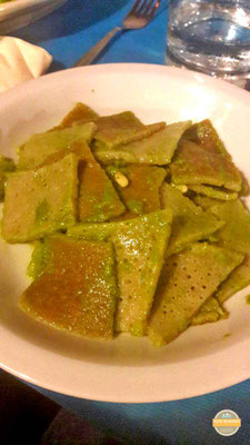 - Cucina Casalinga - Testaroli al pesto - Cornigila -