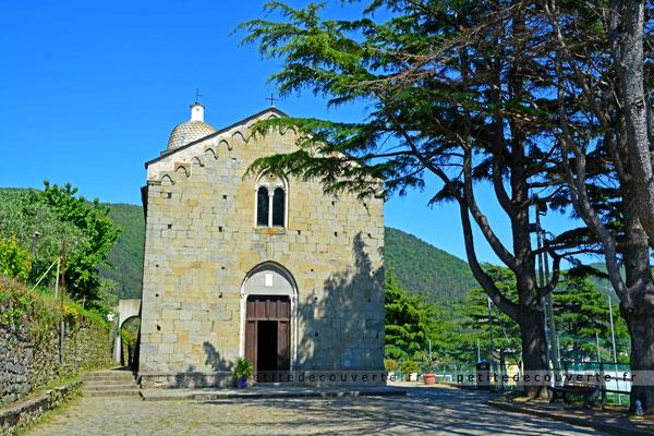 """Parroisse """"Nostra Signora della Salute""""  - Volastra - Cinque Terre - Italie"""
