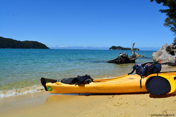 Kayak à Abel Tasman
