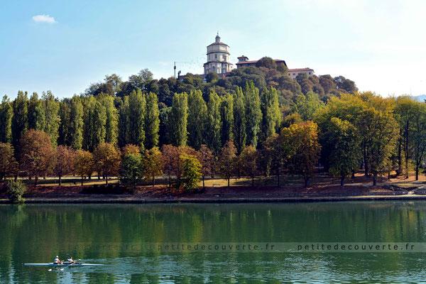 Le Pô - Basilique de Superga - Turin-