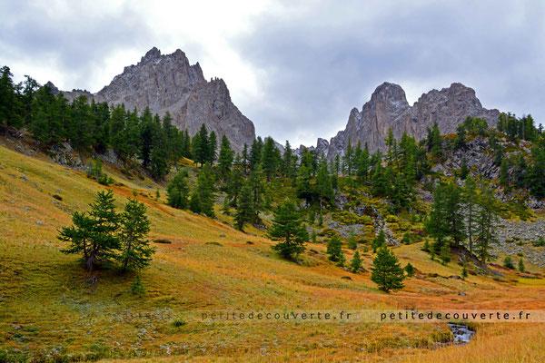 Crête du Diable, Crête de Raisin, Vallée de la Clarée, Névache, Hautes-Alpes