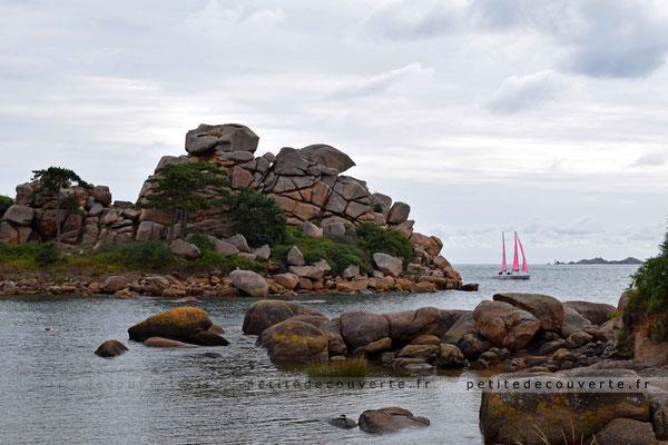 Sentier des douaniers - côte de granit rose