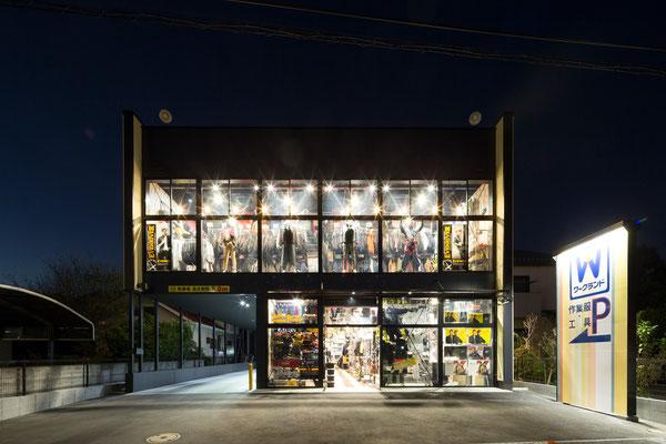 2015'  WORKLAND -YOKOHAMA-   (Architect:フィールド・デザイン・アーキテクツ) 撮影:西川公朗