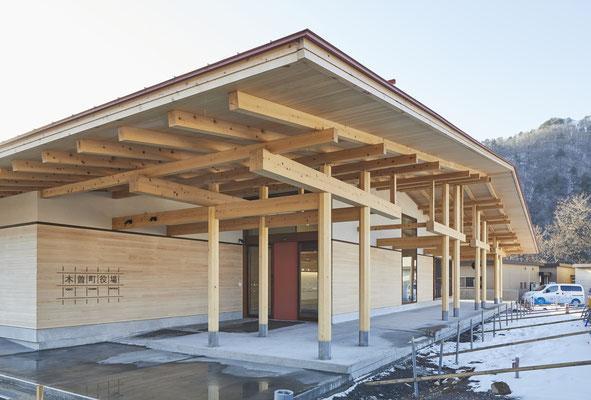 2021'  木曽町庁舎  -NAGANO-  (Architect:千田建築設計 Photo:Kenya Chiba)