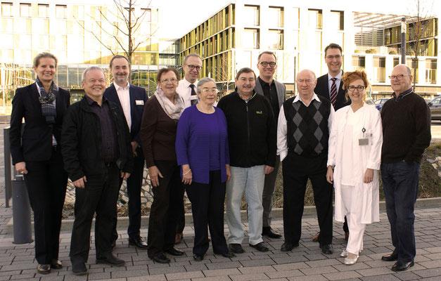 Groß war das Aufgebot: Die Vertreter des Kreisseniorenrats  ließen sich von den Experten der Rems-Murr-Kliniken über das standortübergreifende geriatrische Angebot informieren.