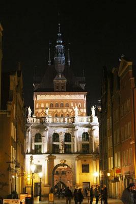 Gdansk Centro di notte  Canon 650D Obbiettivo 17-55 - 2.8 iso 100