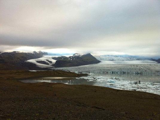Laguna  ghiacciata- Panasonic DMC FZ 50