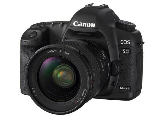 Canon 5D Mark II Reflex sensore FF  21.0 megapixels