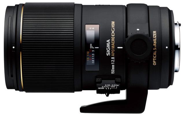 Sigma 150mm f/2.8 EX DG OS HSM Macro