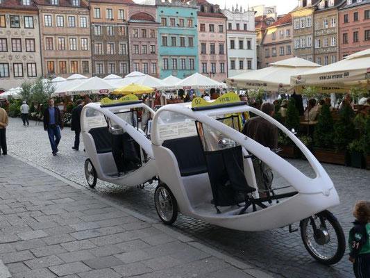 Polonia Varsavia cittá vecchia Taxi - Panasonic FZ50