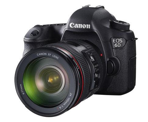 Canon 6D Reflex sensore FF  21.0 megapixels