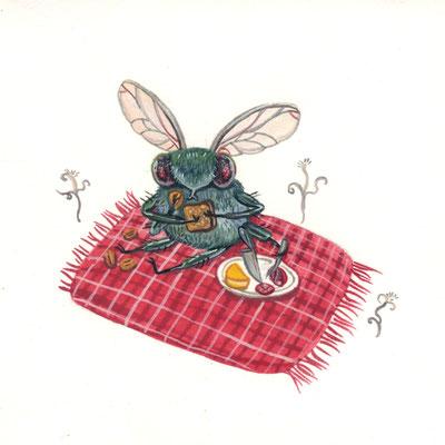 Day 20 - Hungry Bug (June Bug Drawing Challenge)