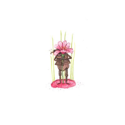Day 12 - Shy Bug (June Bug Drawing Challenge)