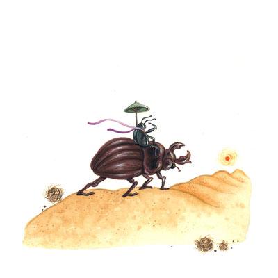 Day 15 - Desert Bug (June Bug Drawing Challenge)