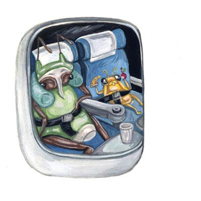 Day 29 - Flying Bug (June Bug Drawing Challenge)