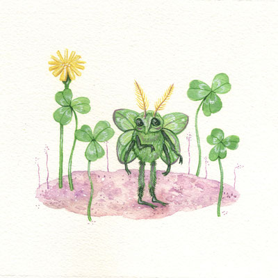 Day 4 - Camouflage Bug (June Bug Drawing Challenge)