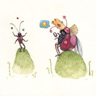Day 11 - Royal Bug (June Bug Drawing Challenge)