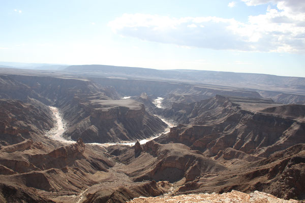 Фиш Ривер каньон - второй по величине каньон в мире