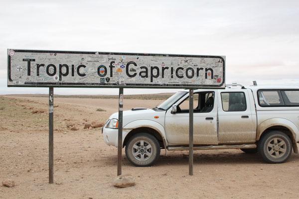 Тропик козерога в Намибии