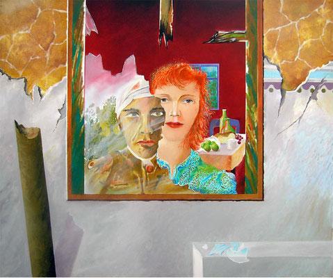 Postfactum 02 // Öl auf Leinwand // 100x120 cm