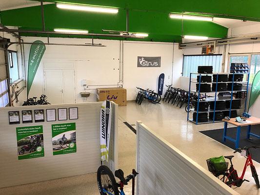 e-Bike Werkstatt der e-motion e-Bike Welt Bad Hall bei Linz