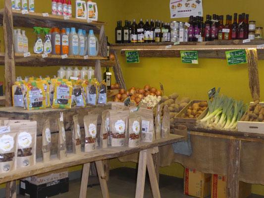 Fruits et légumes Bio à Robion, un coin de jardin