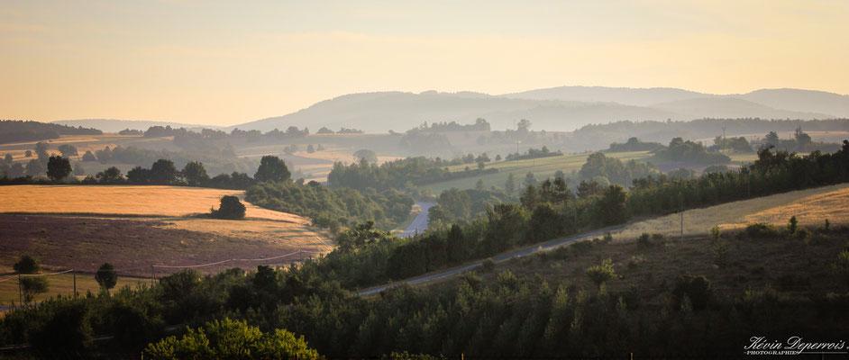 Le plateau d'Albion près de Revest du Bion