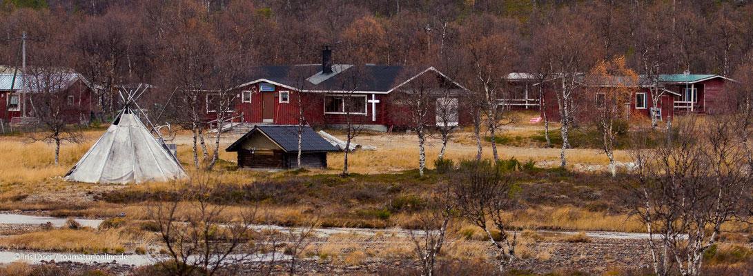 Samendorf in Lappland.