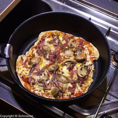 5 ... und fertig ist die leckere Pizza