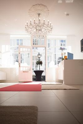 Interieur van Beautiful Meerssen, Uw Schoonheidsinstituut voor Zuid-Limburg en omgeving. Exclusieve Cosmetische Producten - Eerste Klas Technologieën. Markt 8 Meerssen