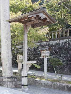 伊奈波神社の提灯屋形